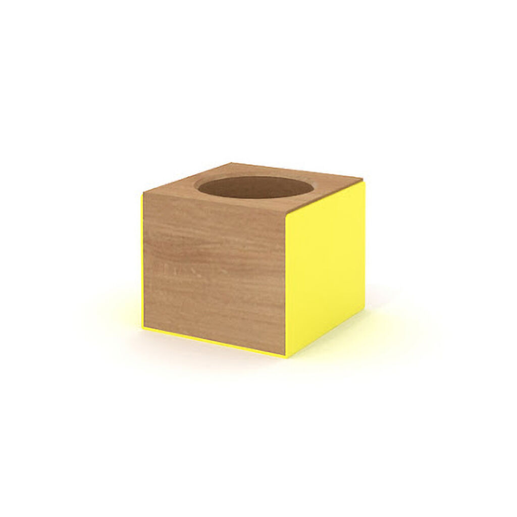 Pencil Holder - Yellow