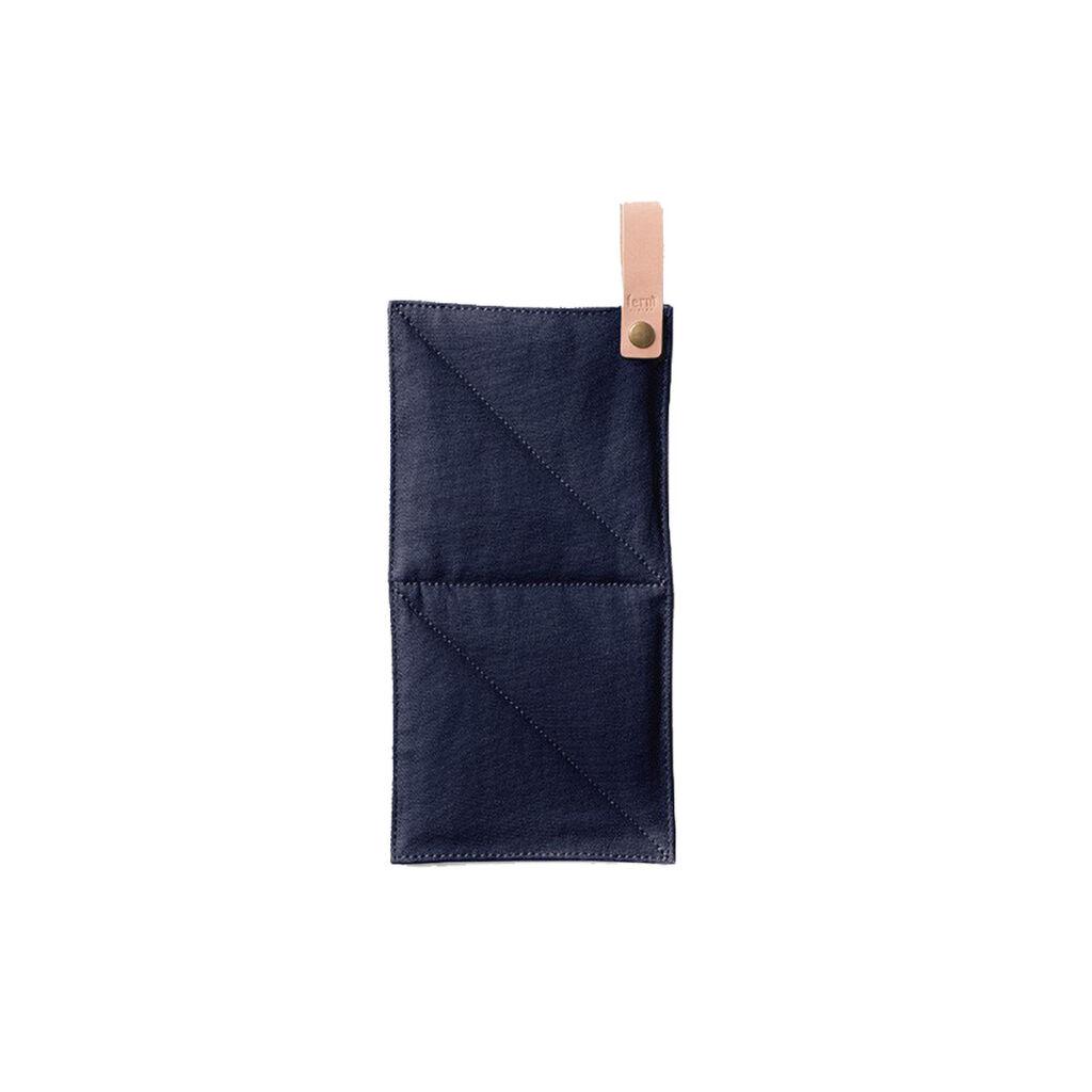 Canvas Pot Holder - Blue