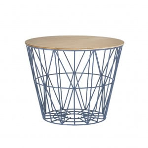 Wire Basket - Blue