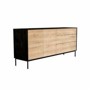 Blackbird sideboard - 2 doors / 3 drawers