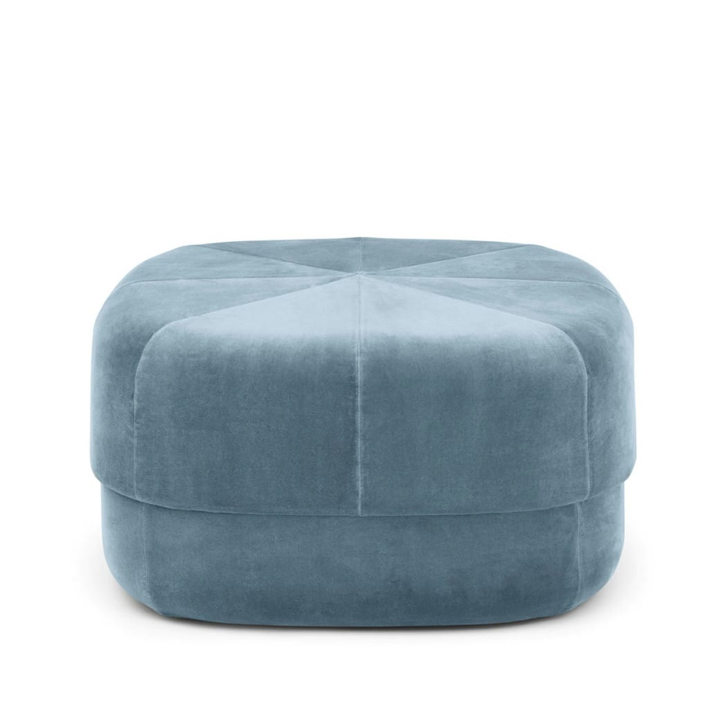 Circus Pouf - Light Blue