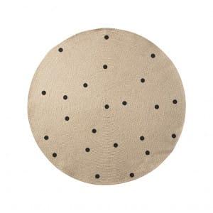 Jute Carpet - Dots