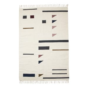 Kelim Rug - Triangles