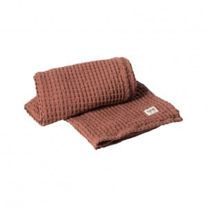 Organic Towel - Rust