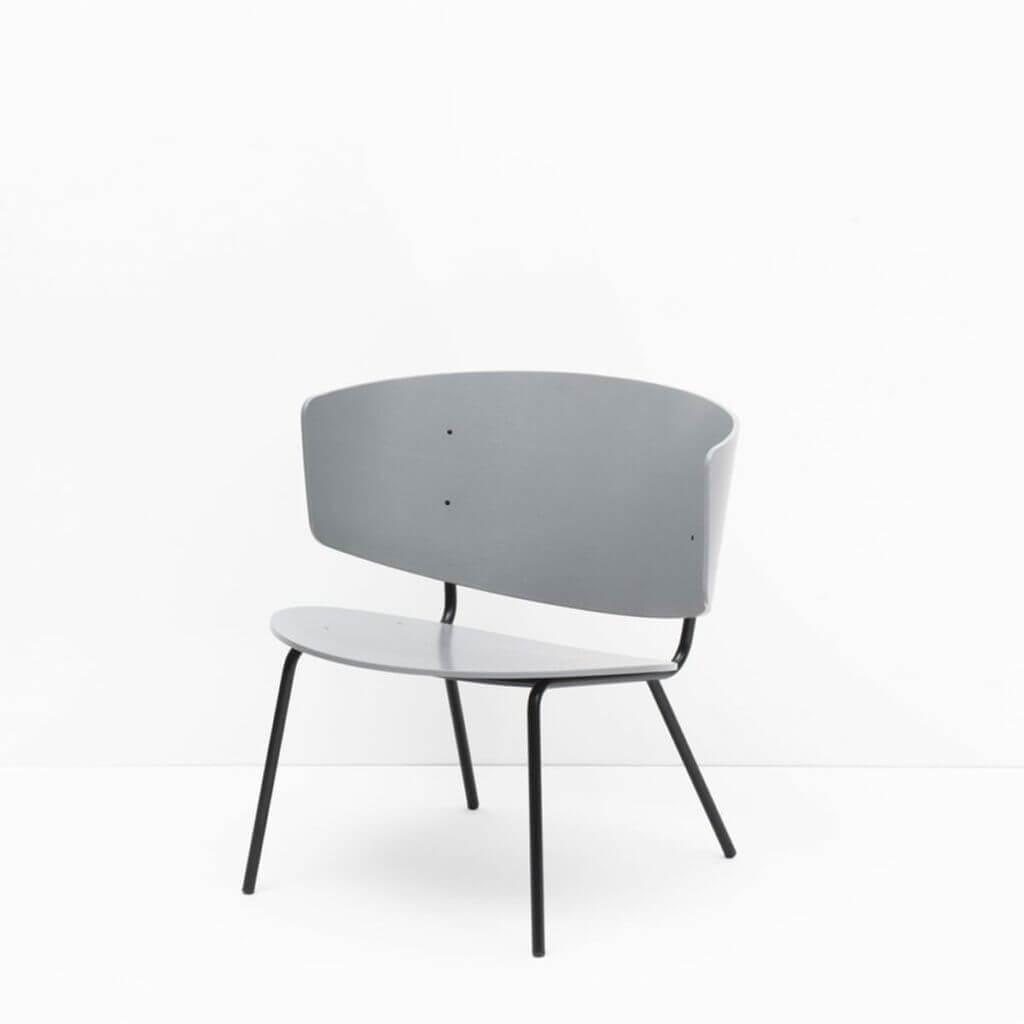 Herman Lounge Chair - Grey