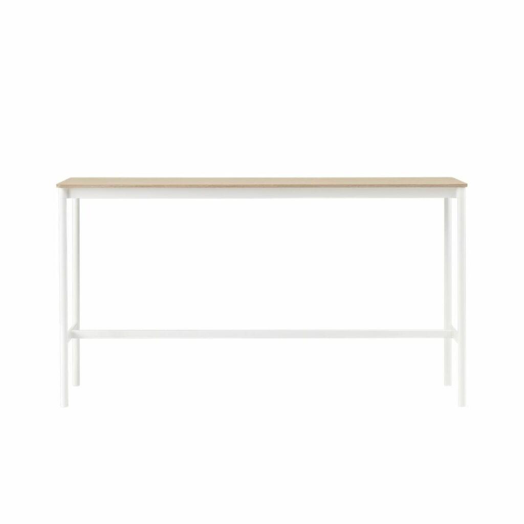 Base Table - High - White