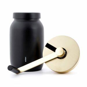 Collar coffee grinder