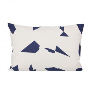 Cut Cushion - Blue