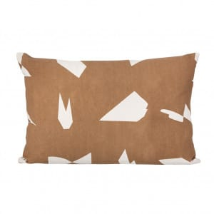 Cut Cushion - Brown