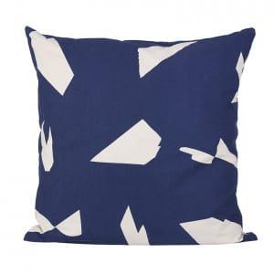 Cut Cushion - Dark Blue