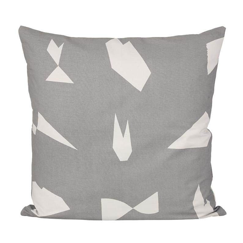 Cut Cushion - Grey