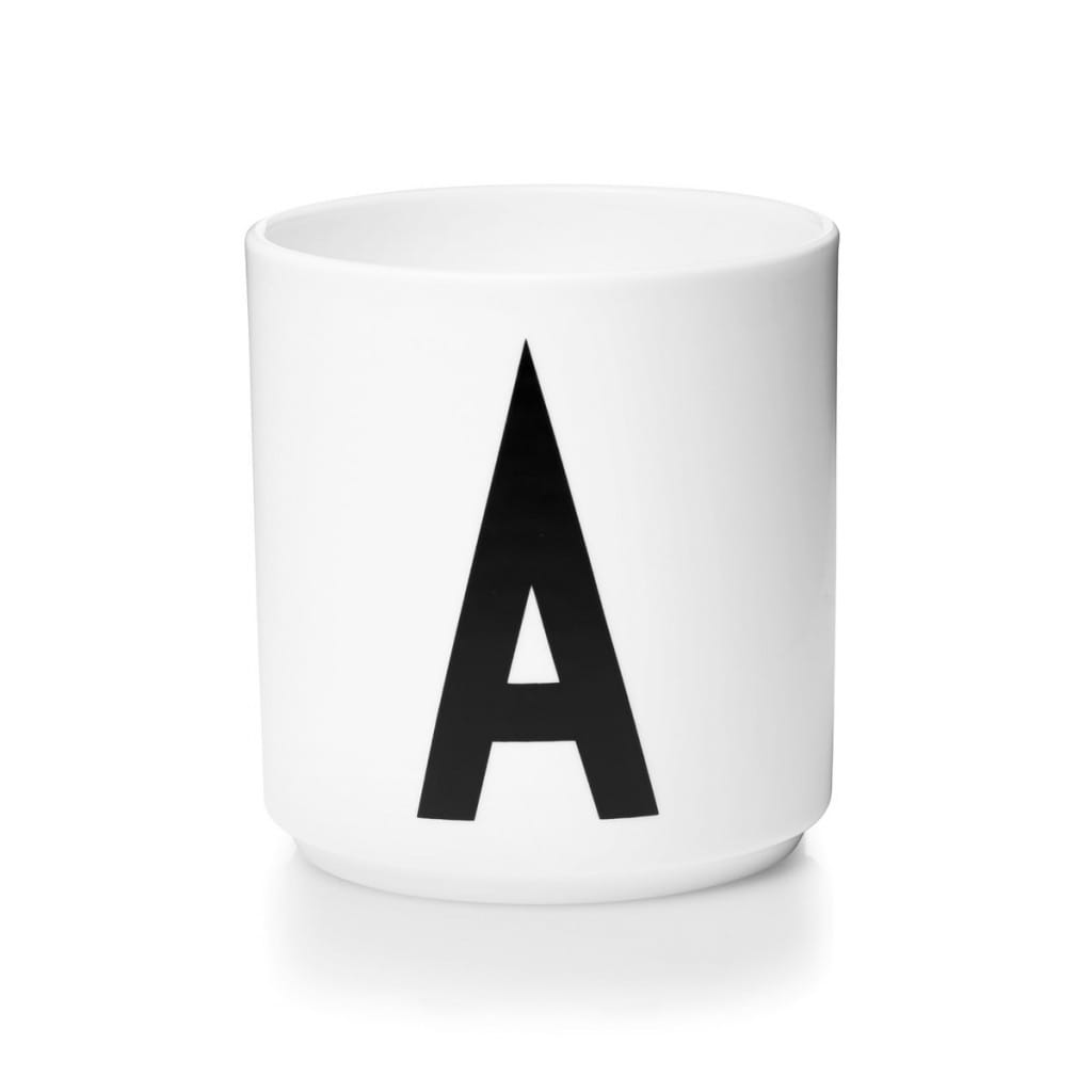 Porcelain Cup - A