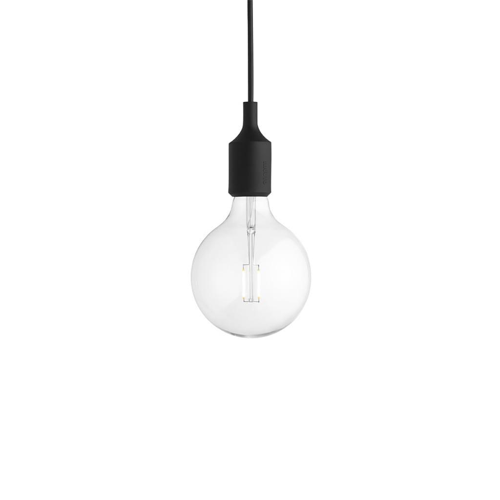 E27 Pendant Lamp -Black