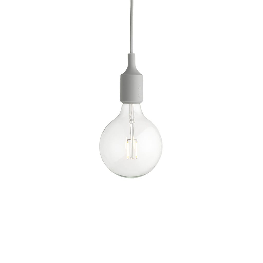 E27 Pendant Lamp - Light Grey