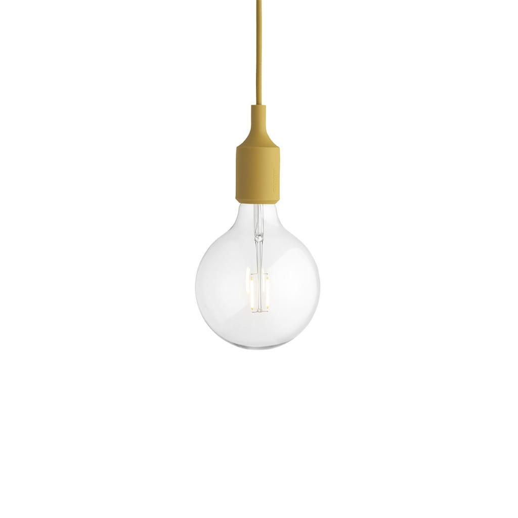 E27 Pendant Lamp - Mustard
