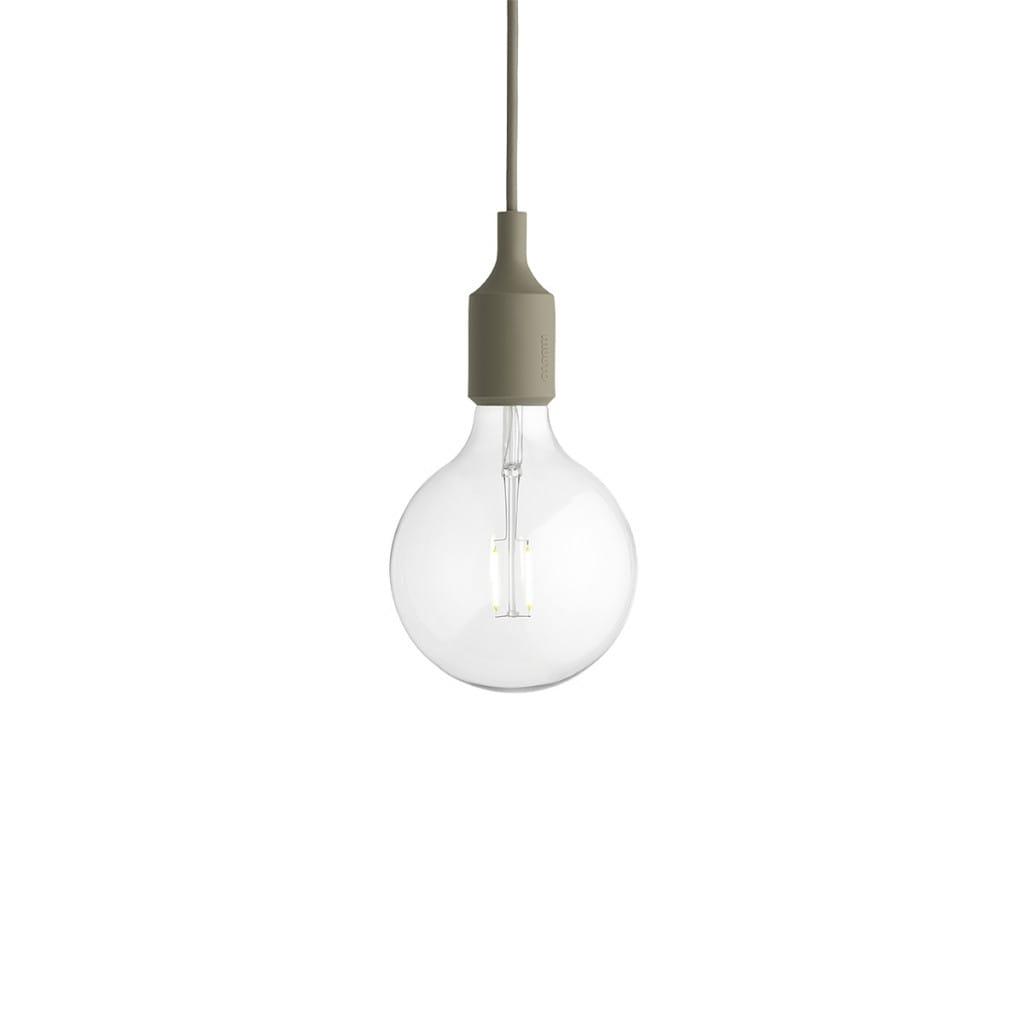 E27 Pendant Lamp - Olive