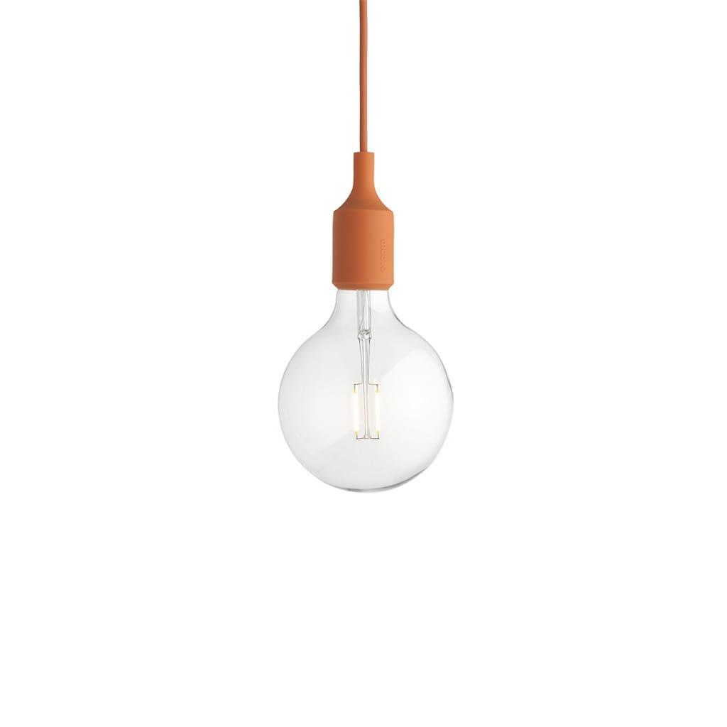 E27 Pendant Lamp - Orange
