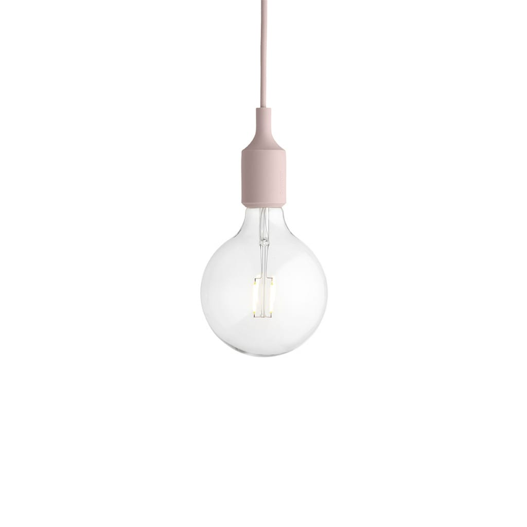 E27 Pendant Lamp - Rose