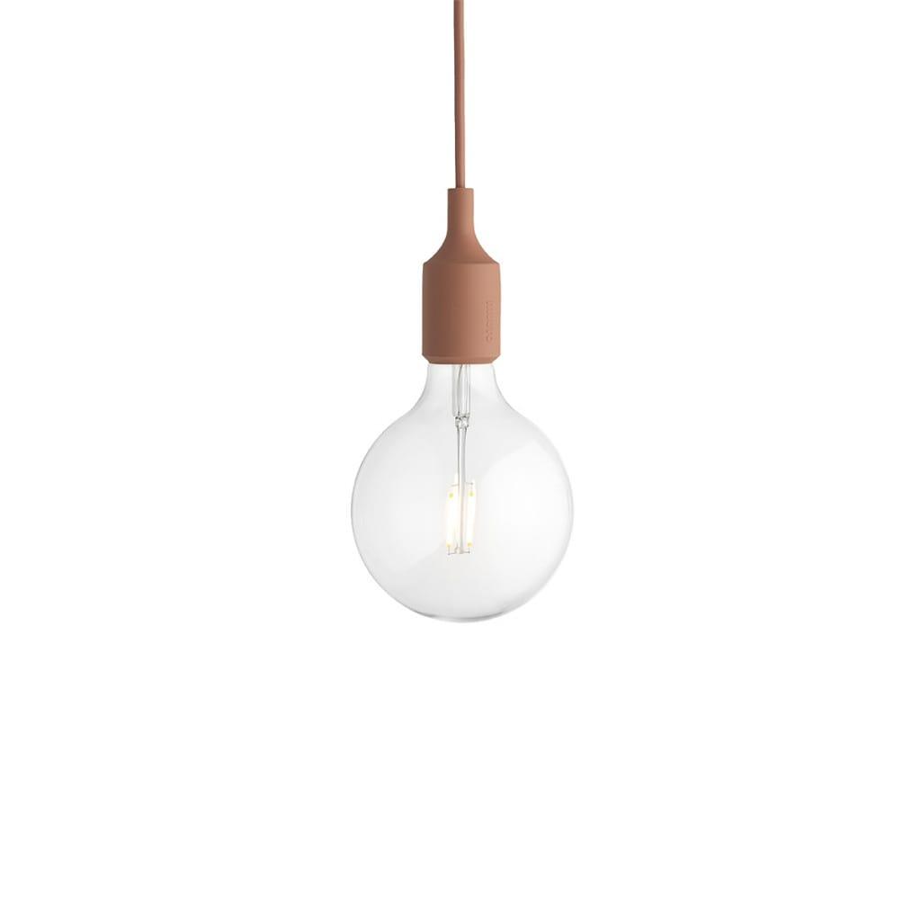 E27 Pendant Lamp - Terracotta