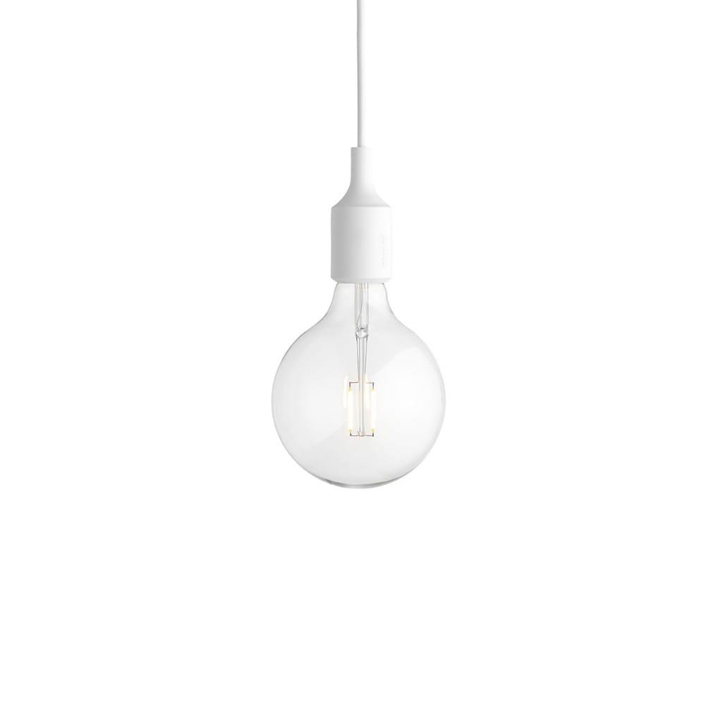 E27 Pendant Lamp - White