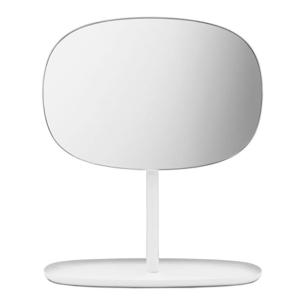 Flip Mirror - White - Front