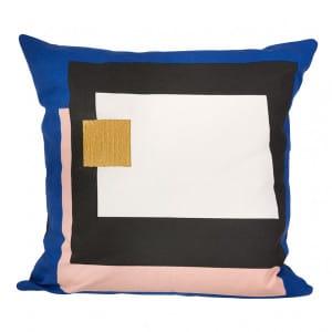Fragment Cushion - Blue