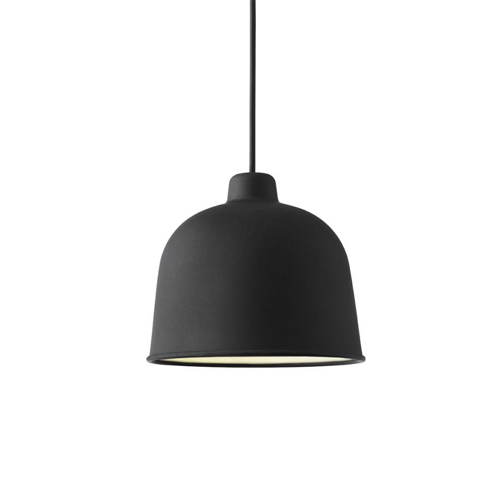 Grain Pendant Lamp - Black