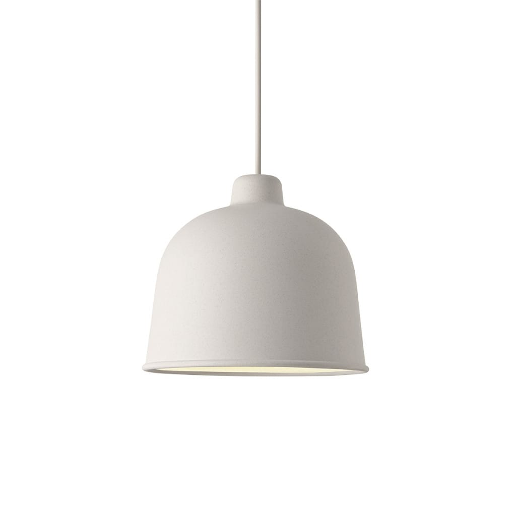 Grain Pendant Lamp - White