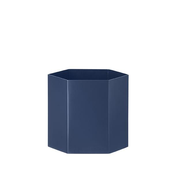 Hexagon Vase - Blue