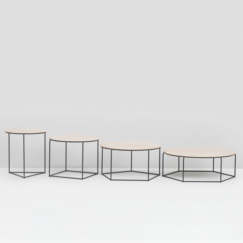 Polytop Table - Set - Ash / Black