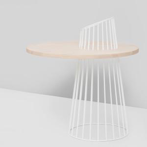 Sinteza Table - White