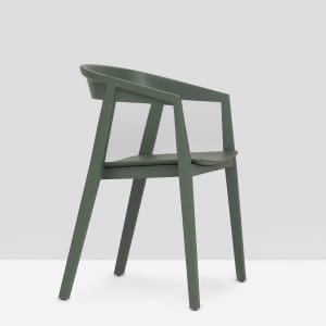 Brida Chair with Armrest - Olive
