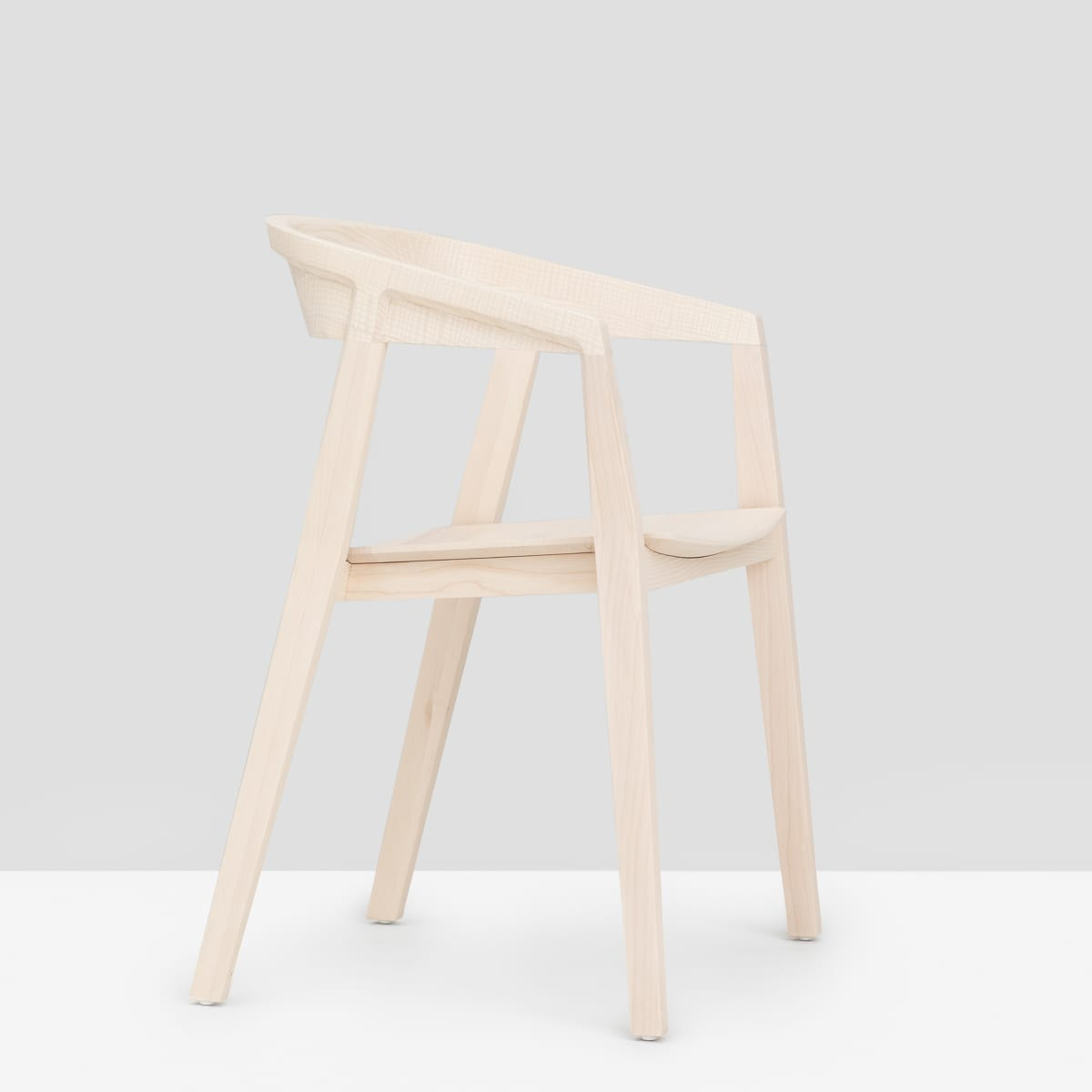 Brida Chair with Armrest - Ash
