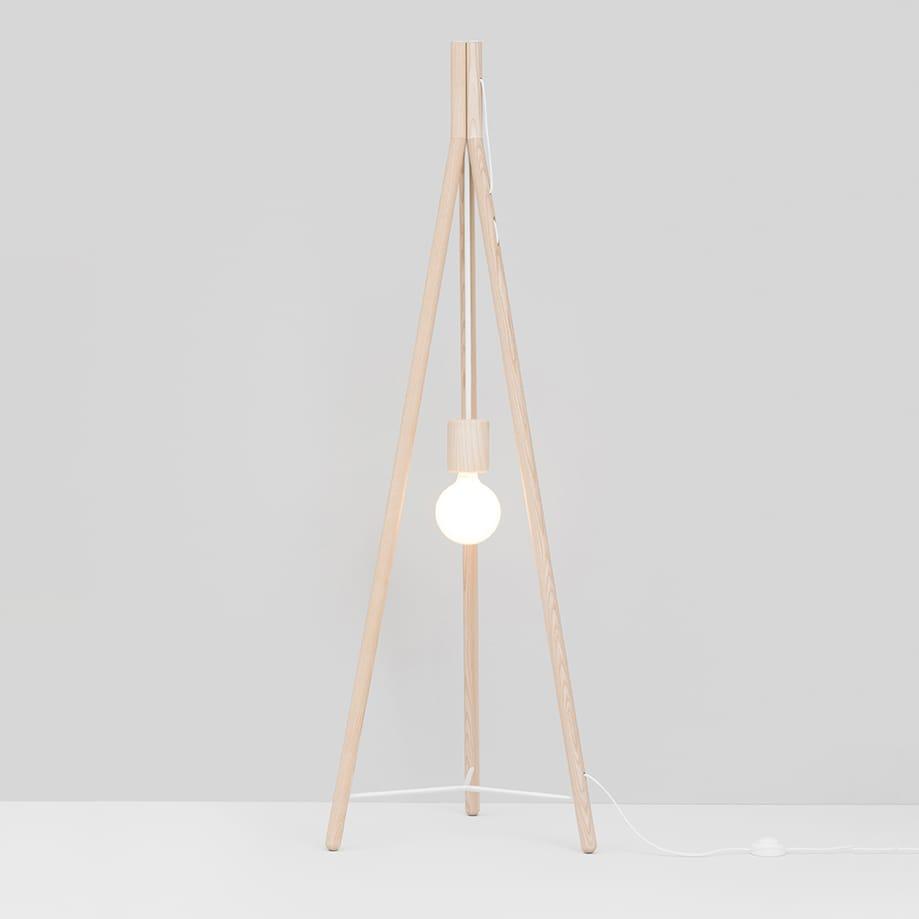 Kotlić Lamp - Wood