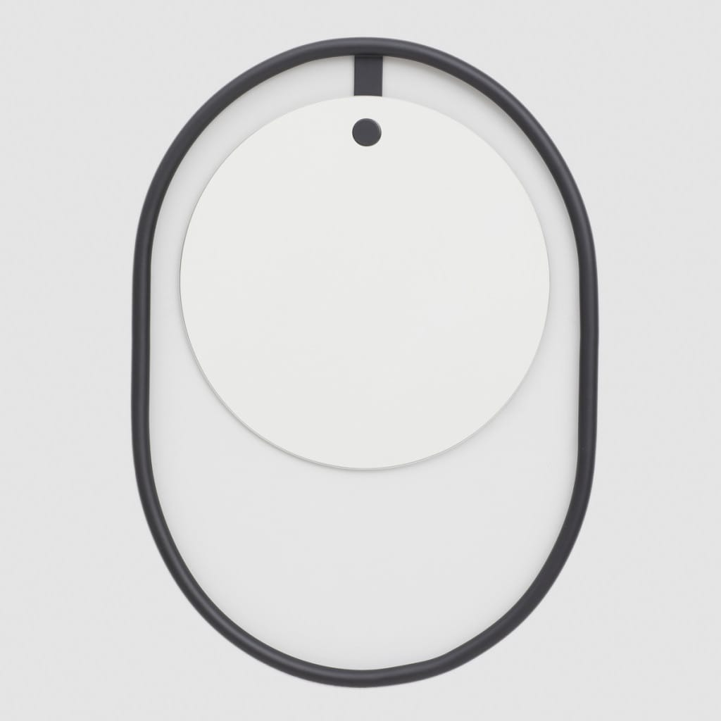 Opozit Wall mirror - Black