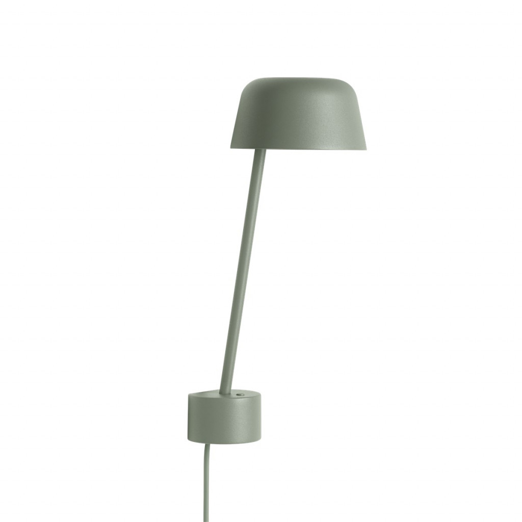 Lean lamp - Dusty Green