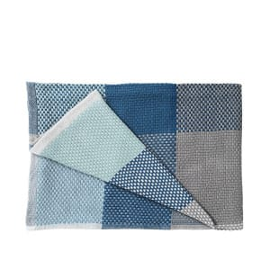Loom Throw - Blue