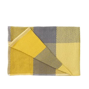 Loom Throw - Yellow