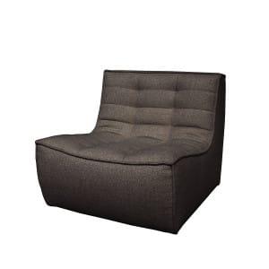 N701 1seater - Dark grey