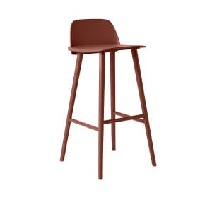 Nerd Barstool - Dark Red