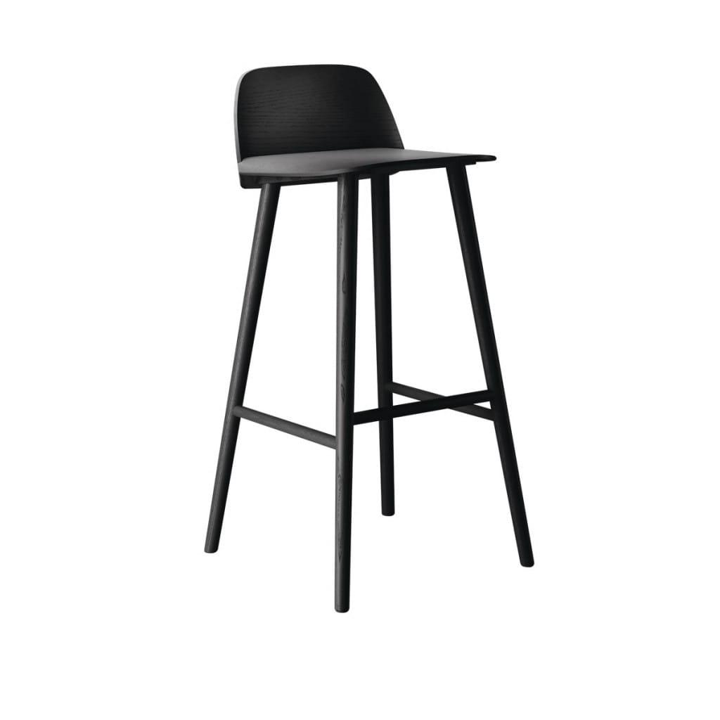 Nerd bar stool - Black