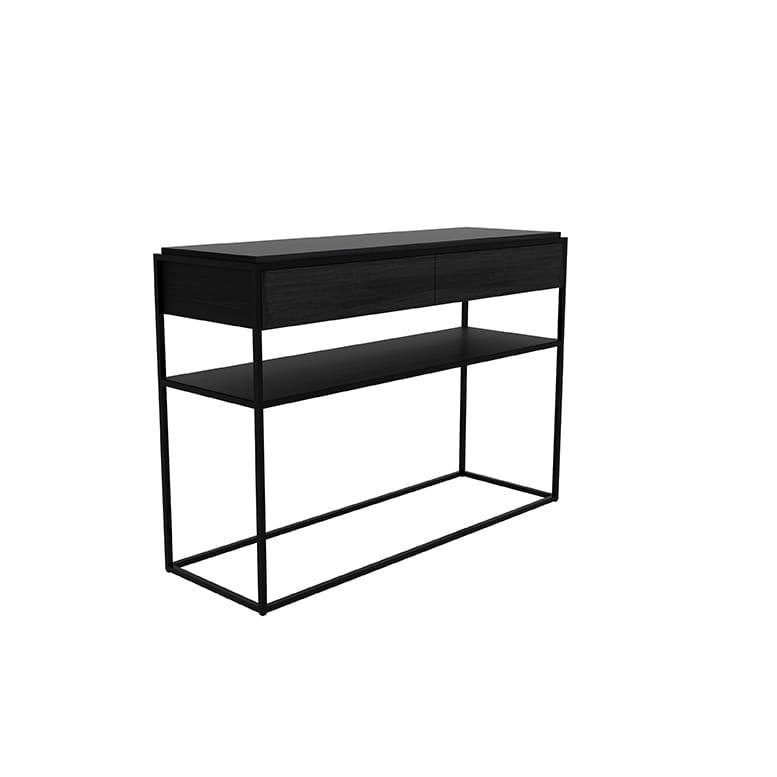 Oak Monolit console - Black 2
