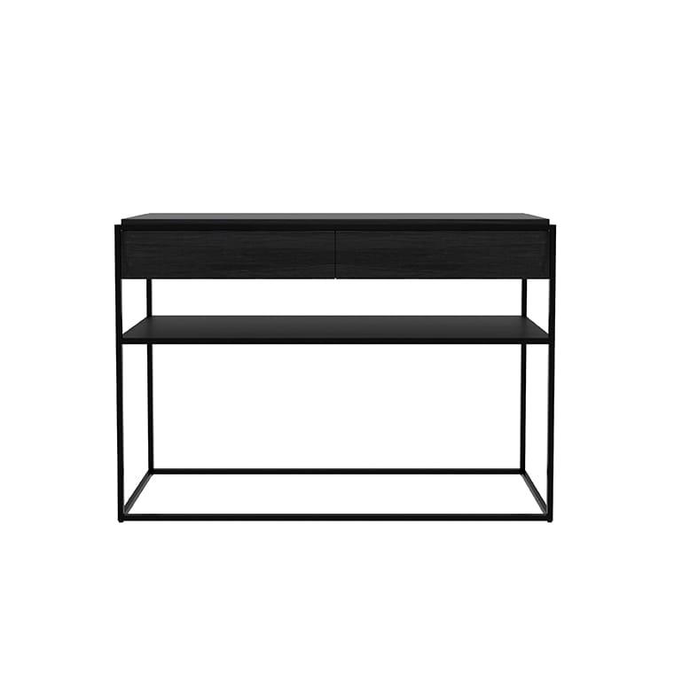 Monolit console / Black oak, Black metal