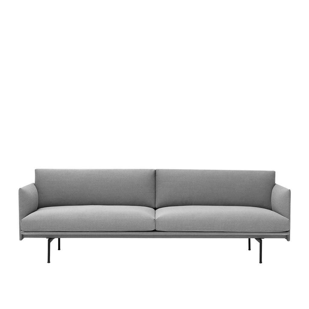 Outline sofa - Steelcut Trio 133