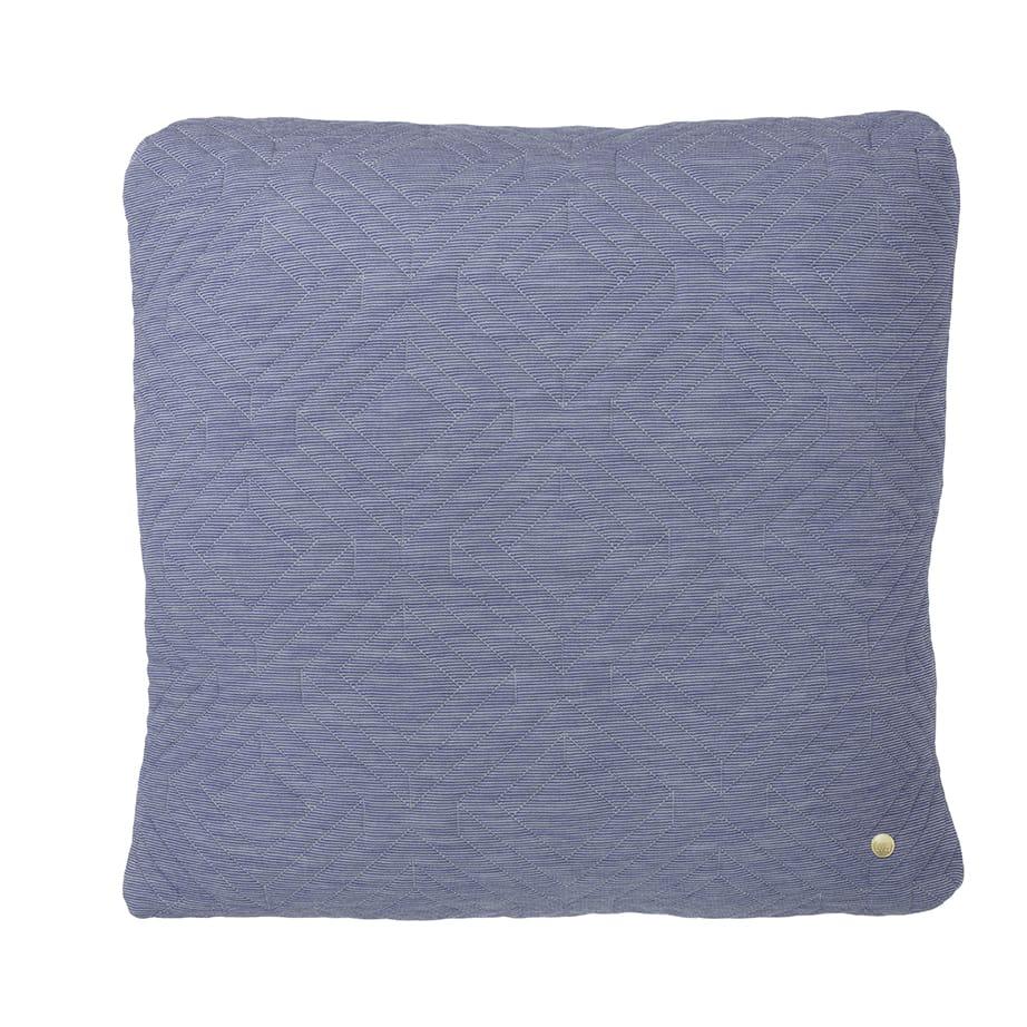Quilt Cushion - Light Blue