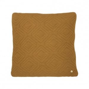 Quilt Cushion - Curry