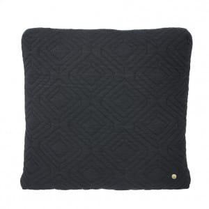 Quilt Cushion - Dark Grey
