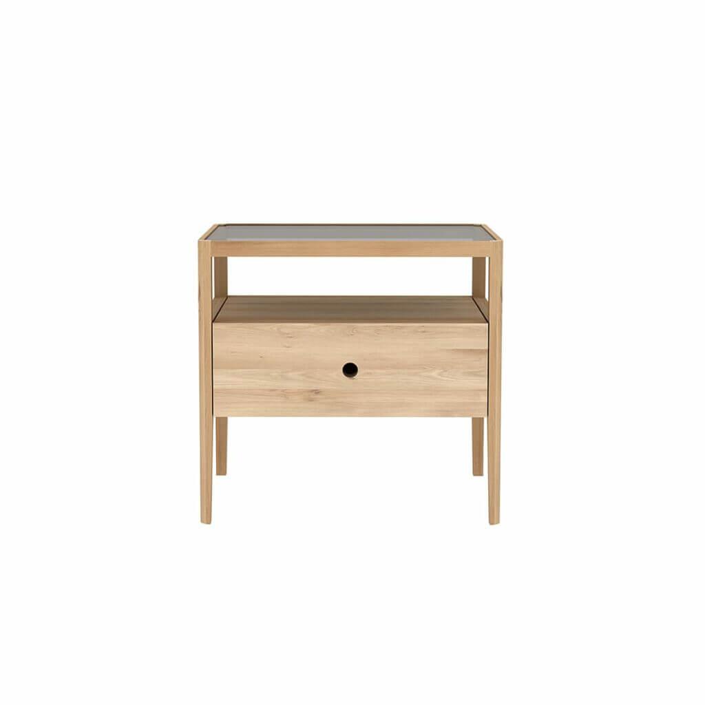 Spindle Bedside table