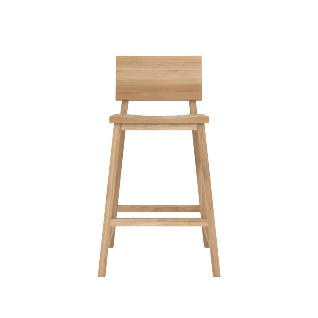 Oak N3 Kitchen counter stool