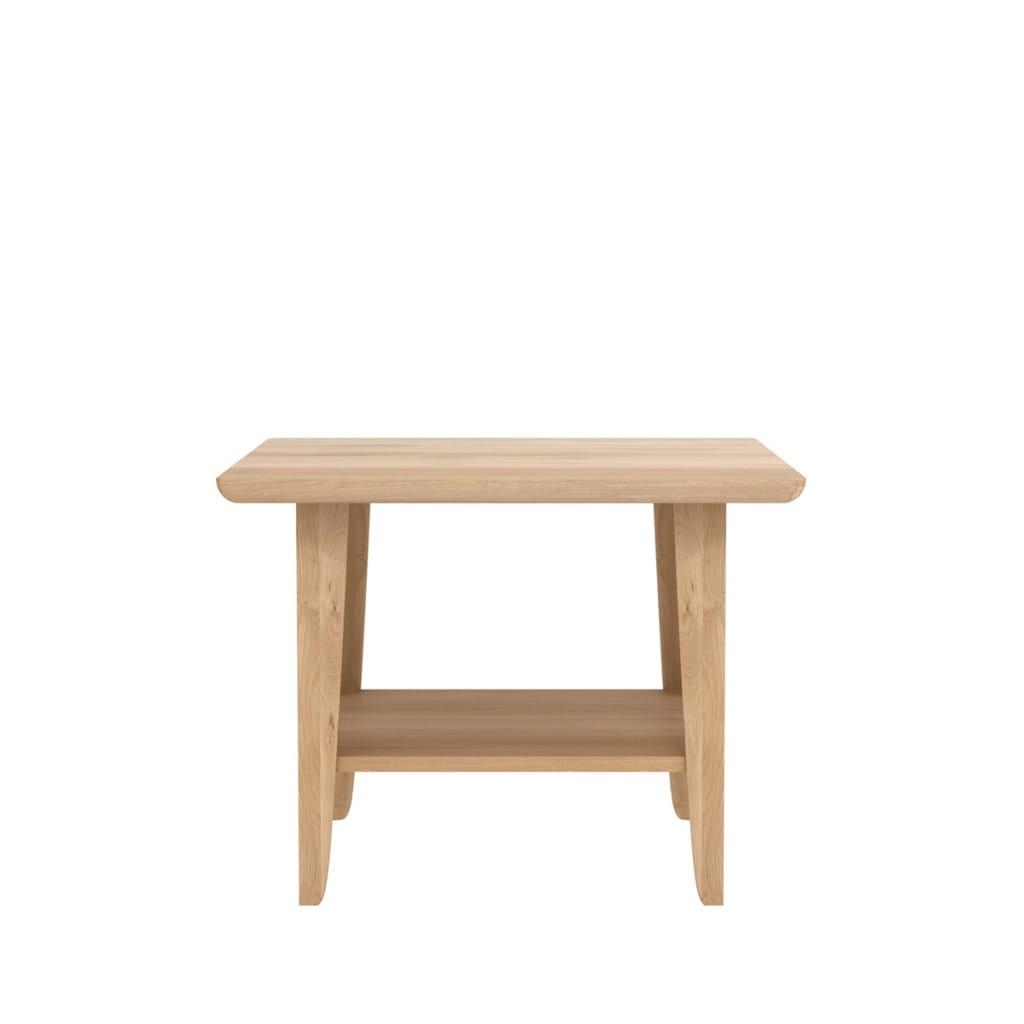 Oak Simple side table
